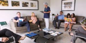 Equipe de trabalho para reabilitação oral